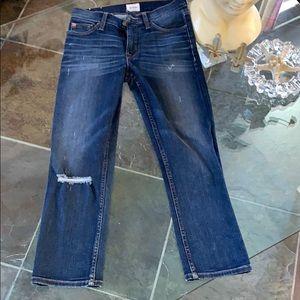 Hudson NWOT Fallon Crop Jeans